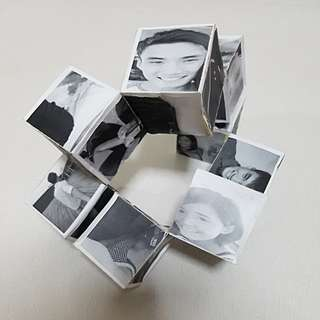 Customised Gift (3D picture moving cube)