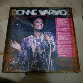 Dionne Warwick - Hot! Live and  Otherwise Vinyl Record
