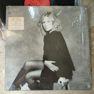 Barbra Streisand - Till I Loved You Vinyl Record