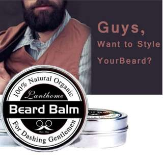 Styling Beeswax Moisturized Smoothing Gentlemen Beard Balm ( Lanthome )