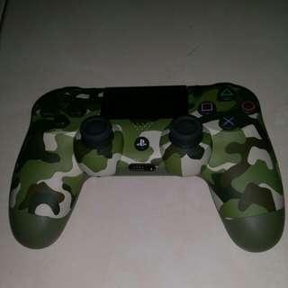 PS4 Controller green camo