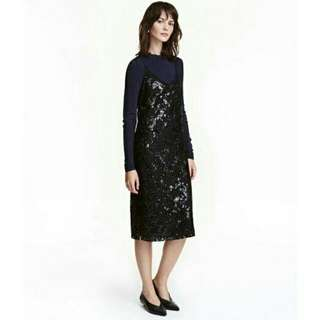 (🚫NOT AVAIL ATM) H&M Sequined Lace Dress