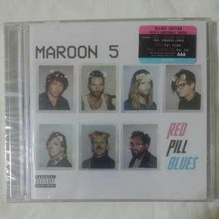 [Music Empire] Maroon 5 - Red Pill Blues CD Album