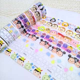 [INSTOCK] Tsum Tsum Washi Decorative Tape