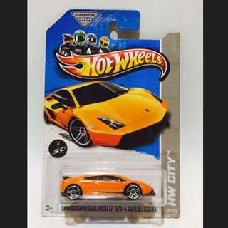 Hot Wheels - Lamborgini Gallardo LP 570-4 SUPERLEGGERA