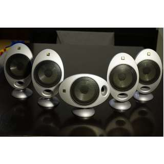KEF HTS2001 Egg Speakers (x5)