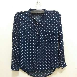 Love pattern top. IDR 35k. Free to nego😊