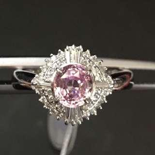 粉紅寶 戒指