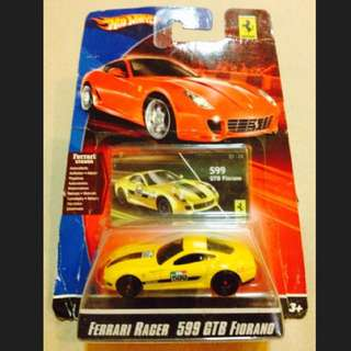 Hot Wheels FERRARI - Ferrari Racer 599 GTB FIORANO
