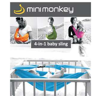 Mini monkey 4 in 1 Baby carrier sling