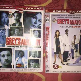DVD GREY'S ANATOMY SEASON 2&3