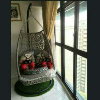Cocoon Quality Swing Chair Include cushions and carpet