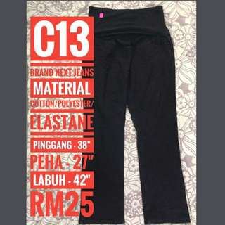 Maternity/Pregnant Jeans C13