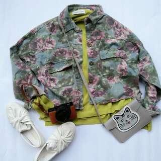 Flower jacket (reprice)