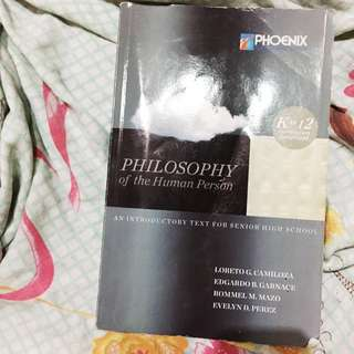 K to 12 Philosophy Textbook