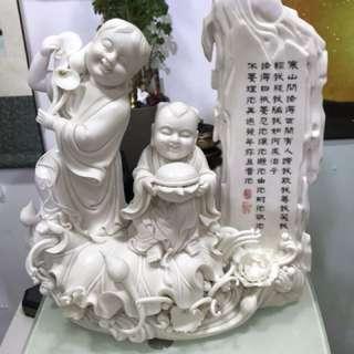 石灣陶瓷(和合二仙)