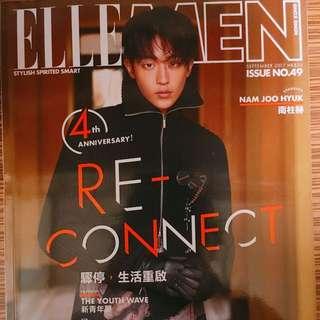 Nam JooHyuk Elle Men Magazine