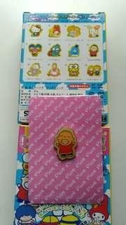 Sanrio 2004 年出版既襟針 -大口仔