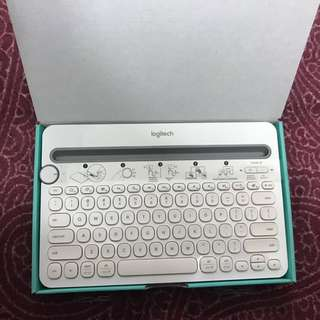 Logitech wireless keyboard for phone and tablet