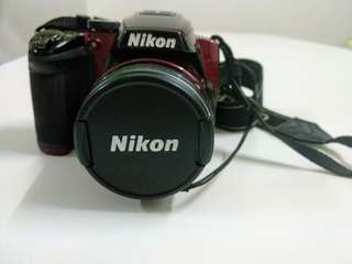 Nikon Coolpix P500 set Like New