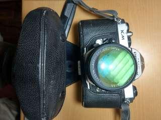 ASAHI Pentax KM 底片式相機   日本海運進口