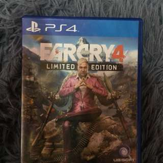 Ps4 game Farcry 4