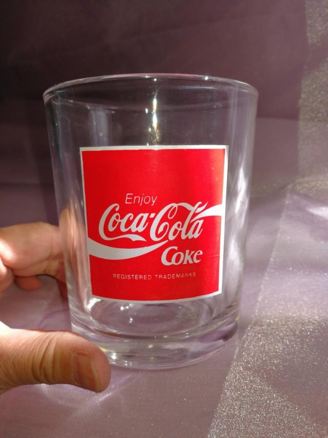 八十年代罕有80'COCA-COLA玻璃杯