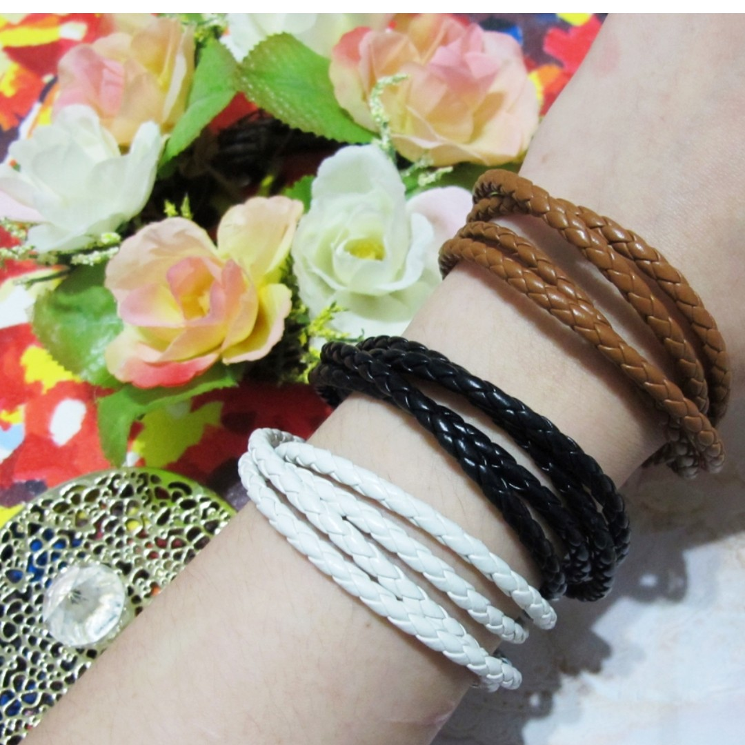 編織麻花手環