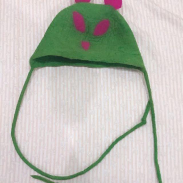 羊毛氈 保暖造型帽