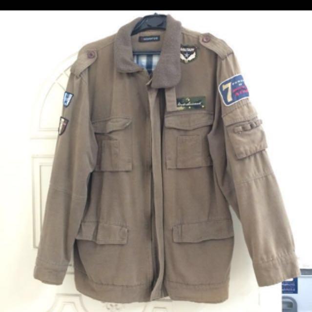 美式經典保暖外套大衣 #有超取最好買