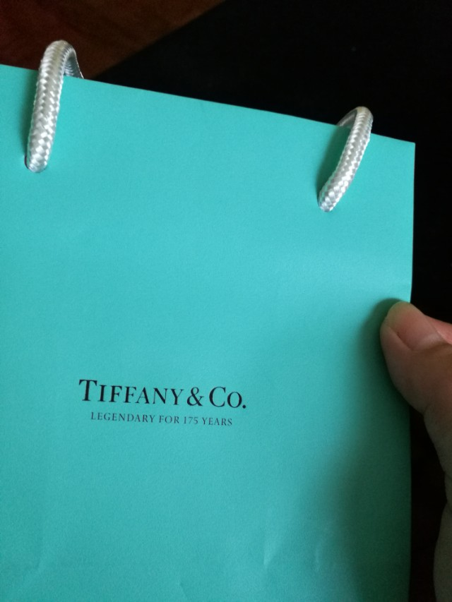 9fdf03d0fe 😍 AUTHENTIC Tiffany bag paperbag paper bag shopping jewelry tiffany ...