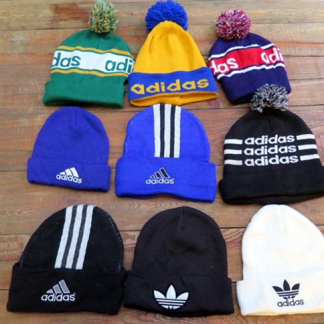 Adidas毛帽