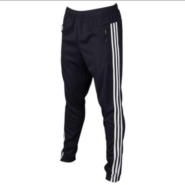 Adidas 黑白 非縮口 三線運動褲 保證正品 BS4957