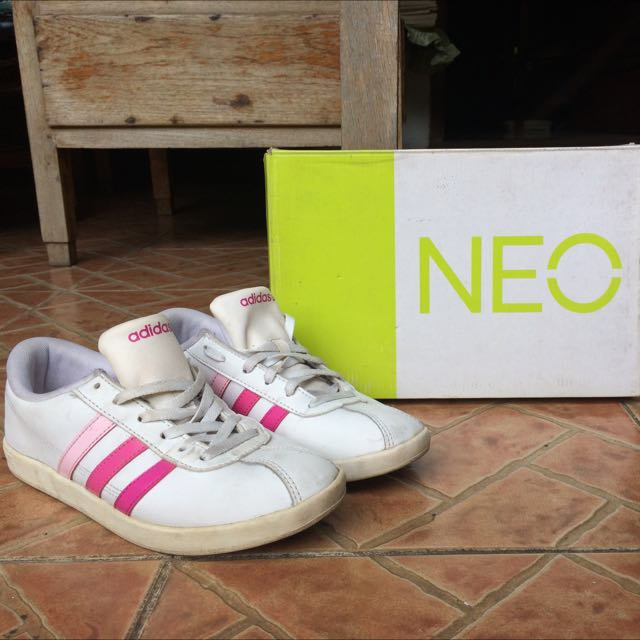 Adidas Neo Label Pink Stripe Gradation