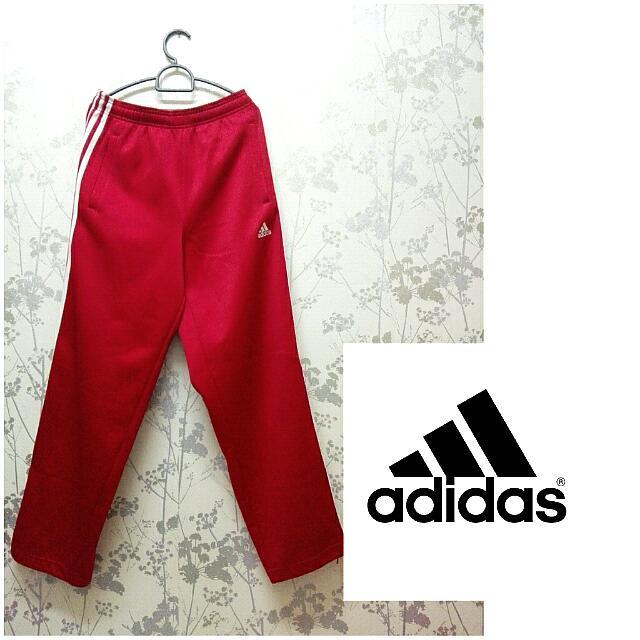 Adidas Red Maroon