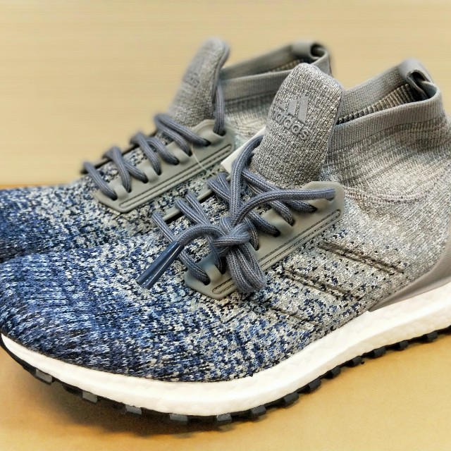 timeless design e2e3b 316d5 Adidas Ultra Boost Mid ATR Grey Noble Indigo, Men's Fashion ...