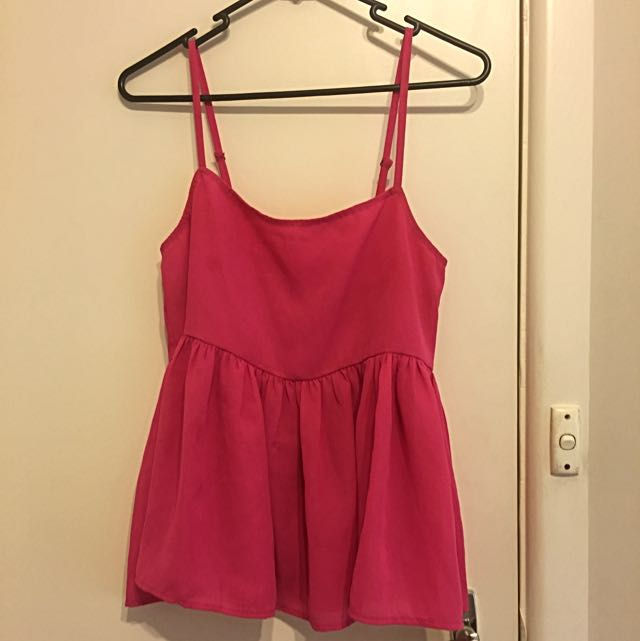 All About Eve Pink Top