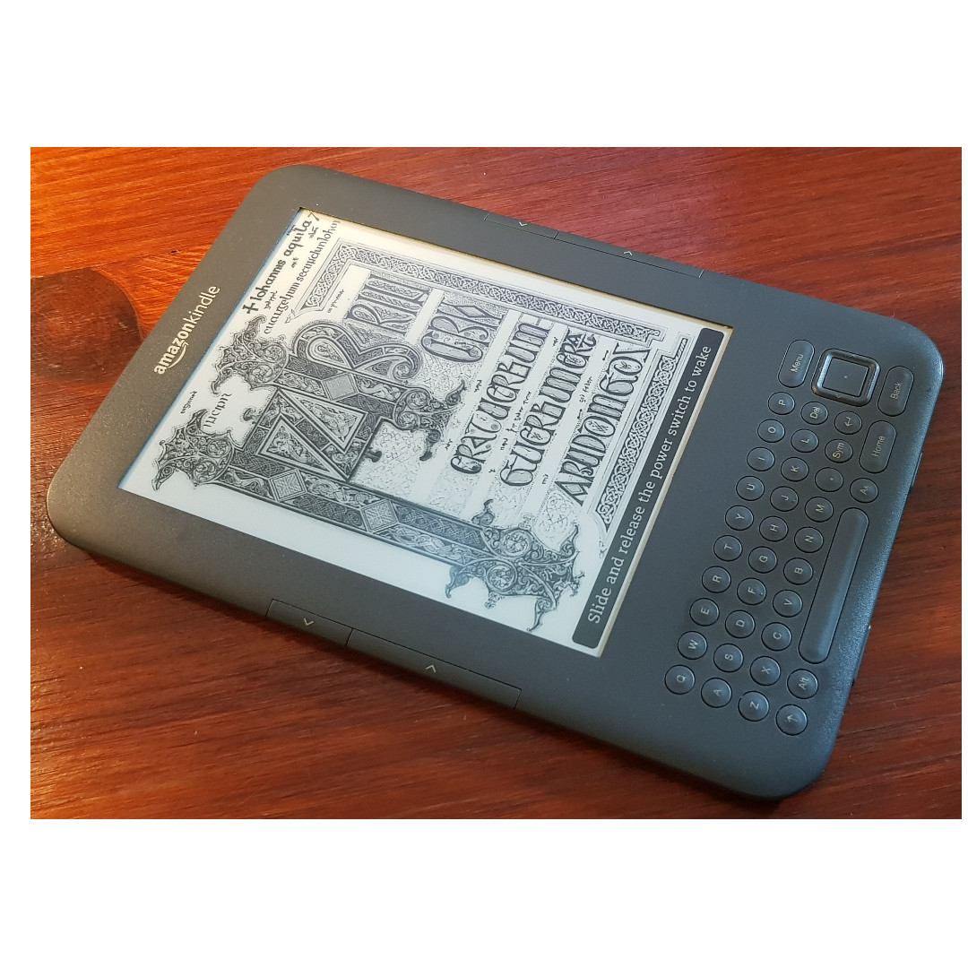 Amazon Kindle Keyboard 3rd Gen  Wifi