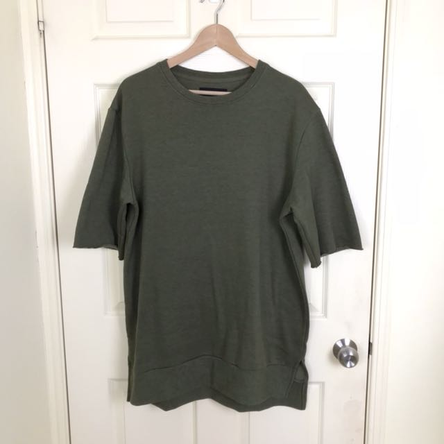 Among Equals - Camo Green Jumper Tee (YEEZY Inspired) - XL