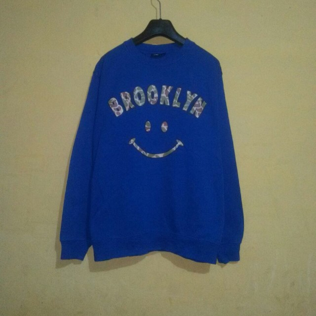 Army Brooklyn Smile Face Sweater