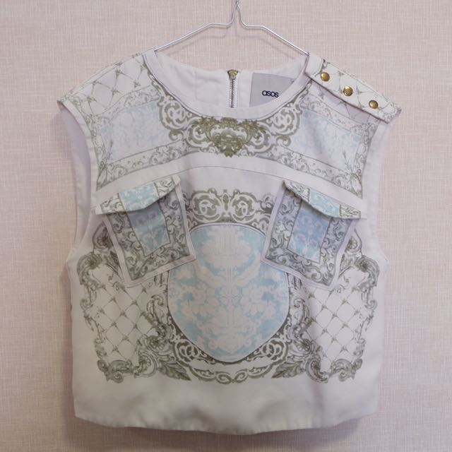 ASOS Baroque Printed Top
