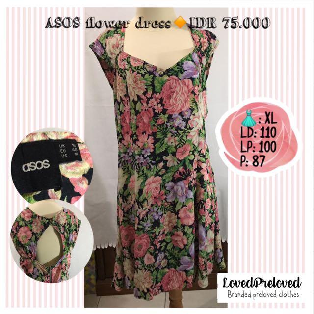 ASOS flower dress big size