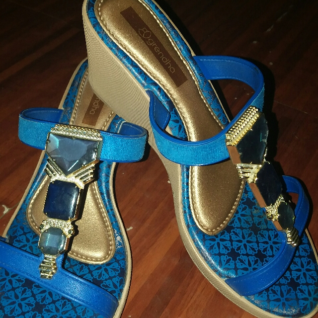 Authentic Grendha Blue Sandals