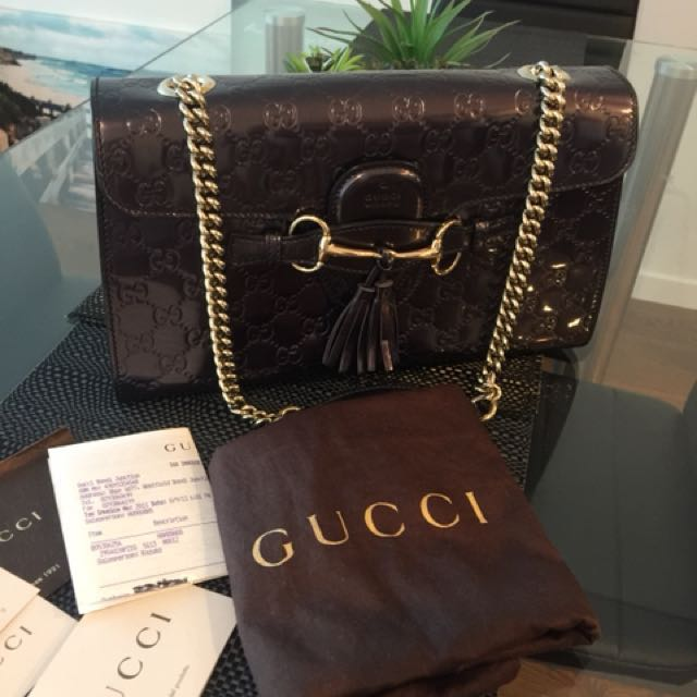 Authentic Gucci Emily
