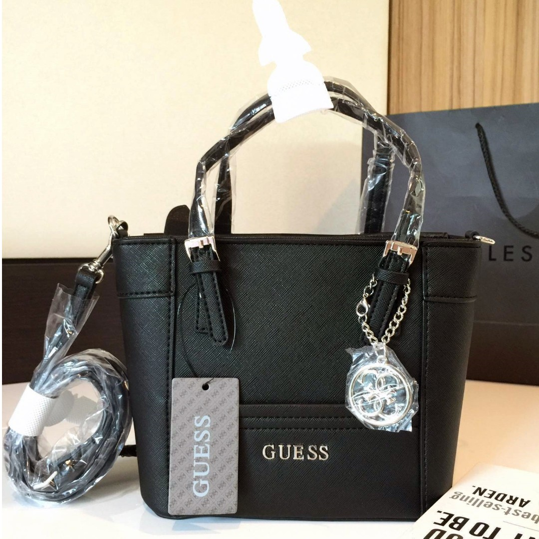 AUTHENTIC GUESS Delaney mini tote crossbody Bag acfe2cdde2522