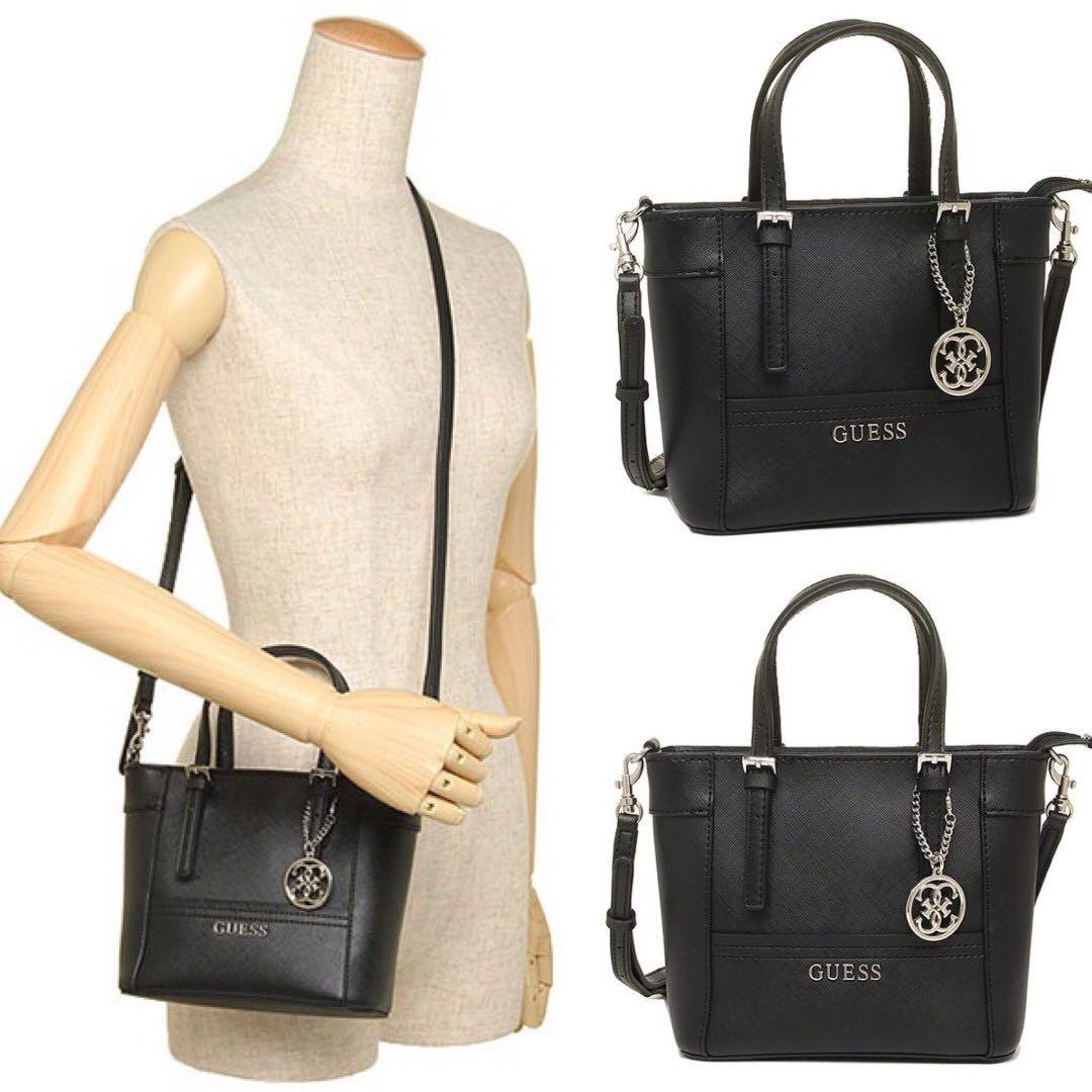 AUTHENTIC GUESS Delaney mini tote crossbody Bag 10046cb71bac9