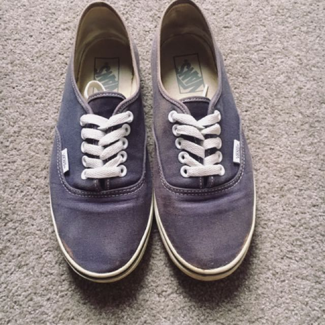 Authentic Navy Vans