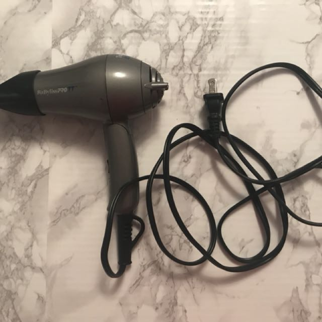 Babyliss travel sized blow drier