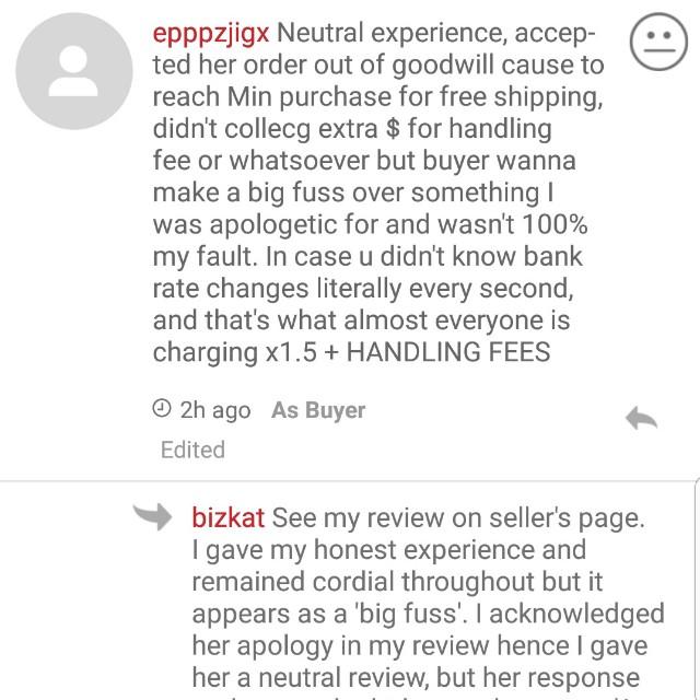 BLACK LIST Bad experience with colourpop spree @epppzjigx