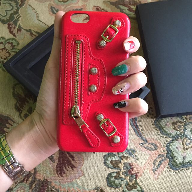 Balenciaga Red Case
